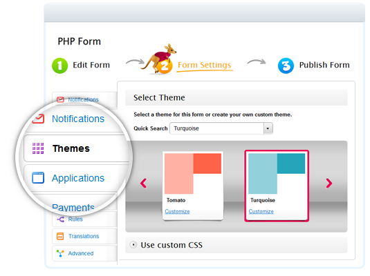 Custom PHP Forms