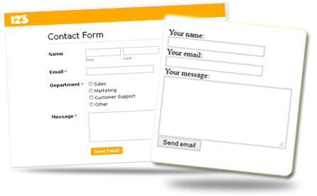 Simple Php Template. html5 signup registration forms 20 free html ...