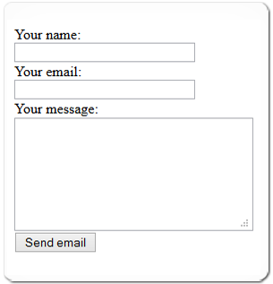 Simple PHP Contact Form Script with Demo