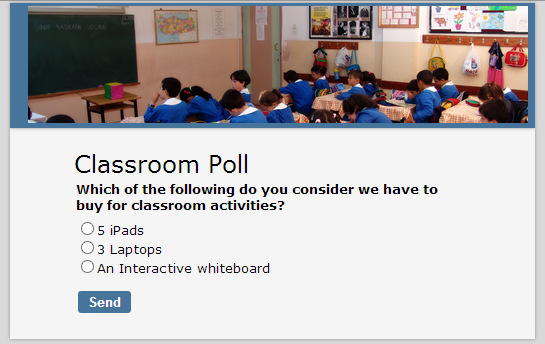 Online education poll