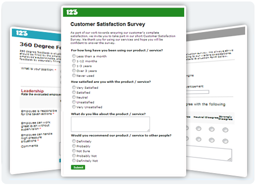 Online Surveys and Polls - 123FormBuilder