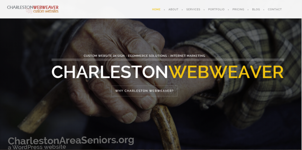 Charleston Webweaver website